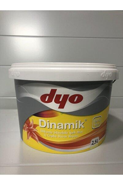 Dyo Dinamik Silikonlu Silinebilir Ipek Mat Iç Cephe Duvar Boyası 2,5 Lt
