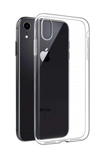 Telefon Aksesuarları Iphone Xr Toz Koruma Ultra Ince Şeffaf Silikon Kılıf