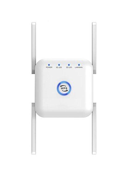 Nicetek 1200 Mbps 2.4/5.8 Ghz Wifi 5 Wireless Sinyal Yakınlaştırıcı Güçlendirici Tekrarlayıcı