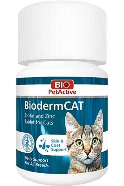 Bio PetActive Biodermcat   Kediler Için Biotin Ve Çinko Tableti 100 Tablet
