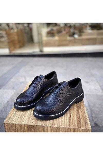 Gloriys Ayakkabı & Çanta Siyah Kadın Oxford Ayakkabı 23990456