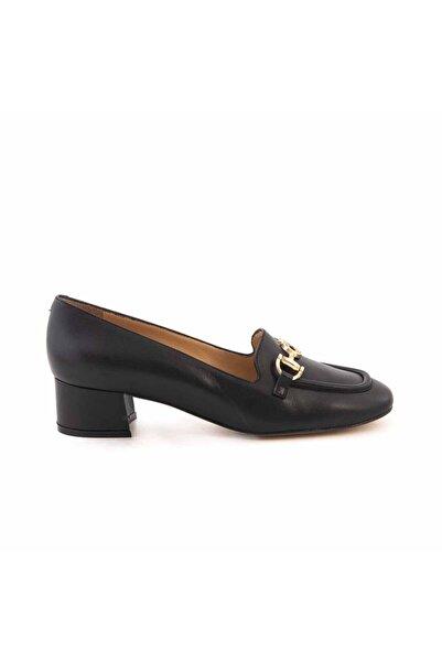 ROUGE Deri Kisa Topuklu Kadın Günlük Ayakkabı 916-103