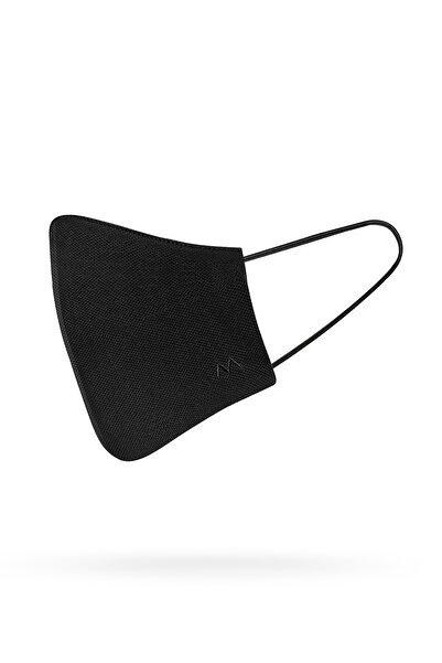 Hemington Pamuk Yıkanabilir Siyah Triko Maske