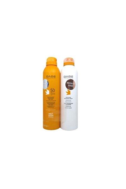 Babe Transparan Güneş Sprayi Spf50 200ml Ve Rahatlatıcı Onarıcı Sprey 200ml Kofre