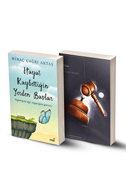 KOLEKTİF 2 Kitap / Hayat Kaybettiğin Yerden Başlar - Dava (franz Kafka)