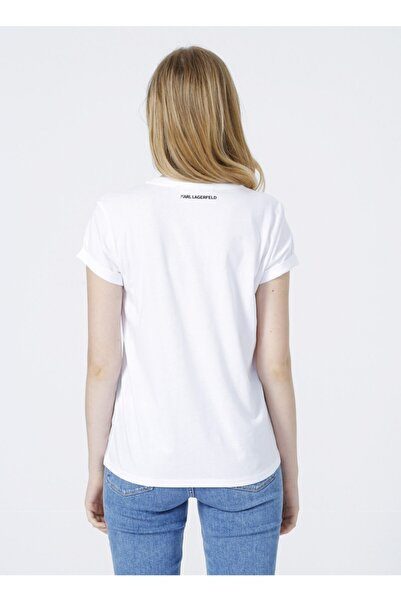 Karl Lagerfeld T-shirt, Xs, Beyaz