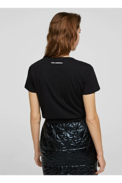 Karl Lagerfeld T-shirt, M, Siyah