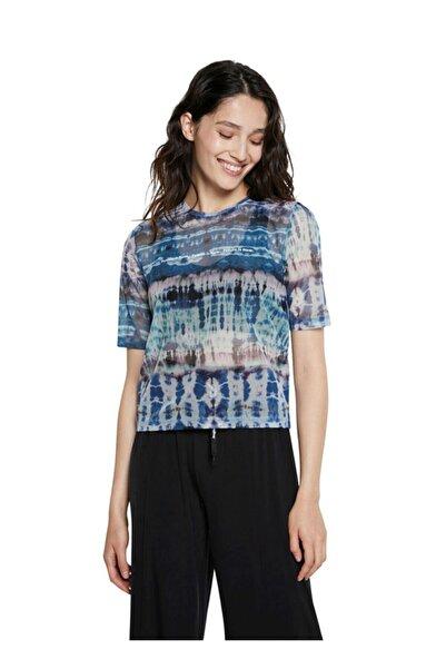 Desigual T-shirt, S, Mavi