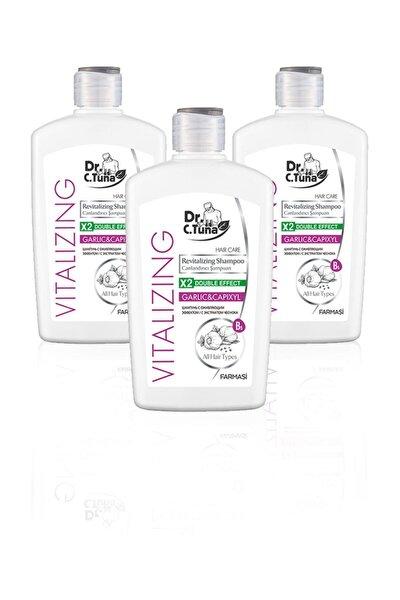 Farmasi Dr. C. Tuna Vitalizing Sarımsaklı Şampuan 500 ml 3'lü Set
