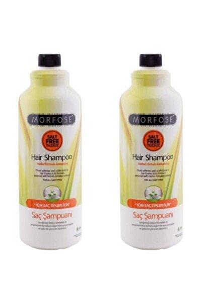 Morfose Şampuan Bitkisel Tuzsuz 1000 ml X 2 Adet