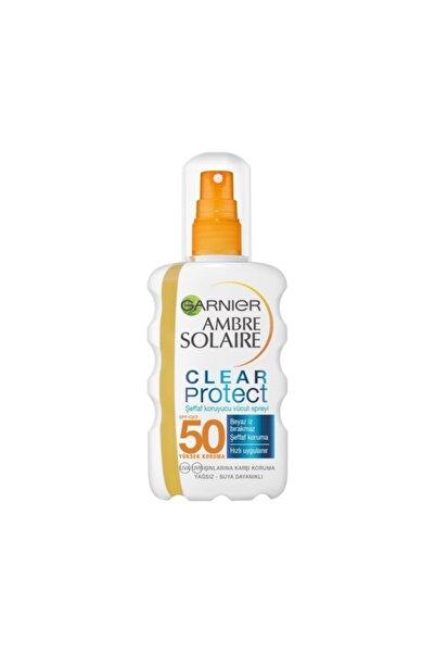 Garnier Ambre Solaire Clear Protect Şeffaf Vücut Spreyi Gkf50 200ml