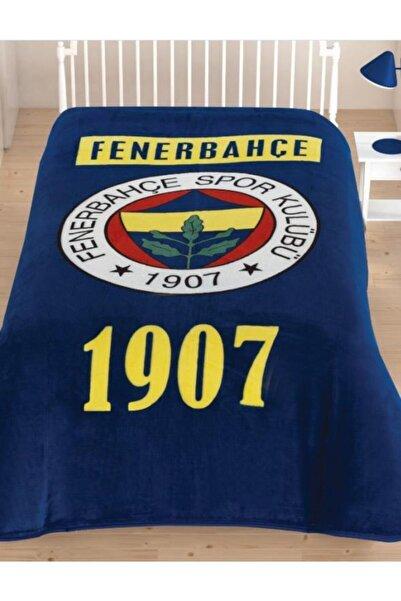 Taç Lisanslı Fenerbahçe 1907 Battaniye Tek Kişilik