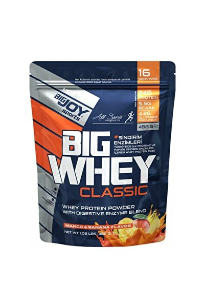 Big Joy Bigjoy Sports Doypack Bıgwhey Whey Protein Çilek 488g 16 Servis