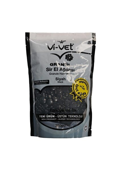 Vi-vet Granül Sir El Ağdası İnci Boncuk Ağda Siyah 250 gr
