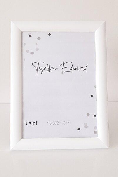 Urzi Dekoratif 15x21 Palet Çerçeve Beyaz 15x21