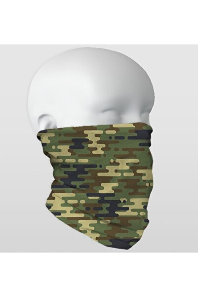 Baff Çok Amaçlı Maske 100 Adet Kamuflaj