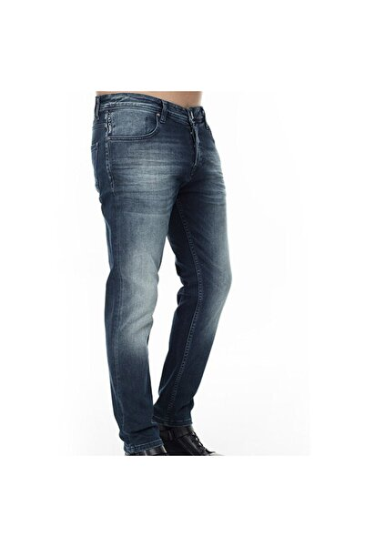 Five Pocket Erkek Lacivert Kot Pantolon 7255s716bartez