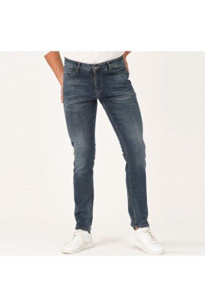 Five Pocket Zagor Erkek Mavi Jean Pantolon (7267-e154)