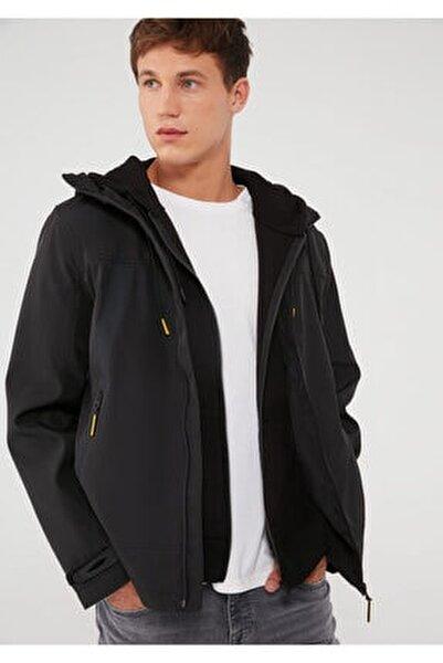 Fermuarlı Siyah Ceket 010411-900