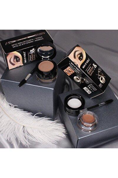 artskin Arya Jel Eyeliner Kahverengi & Siyah Ton 2'li
