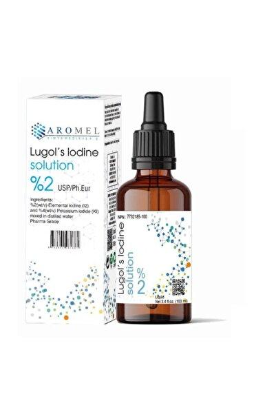 Aromel Lugol Çözeltisi %2 Lik | 100 ml | Lugols Iodine Solution | Pharma Grade