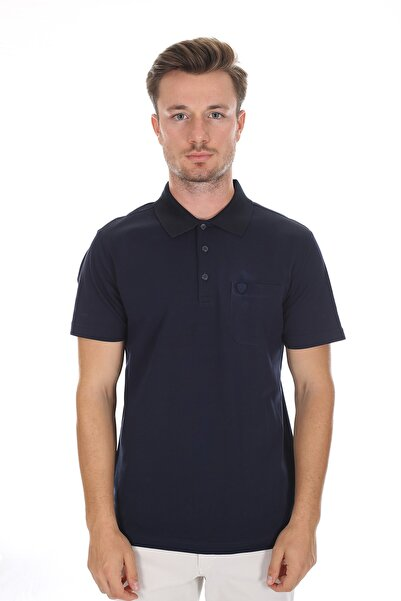 Diandor Polo Yaka Erkek T-shirt Parlement/parliament 2117300