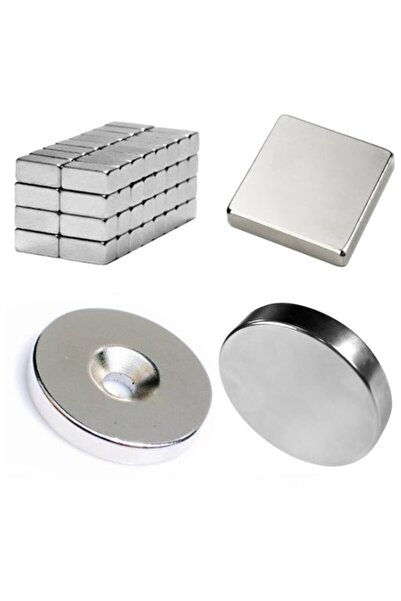Aiwa Neodyum Mıknatıs-magnet-boyut,ebat Seçenekli(40 Lı Paket)