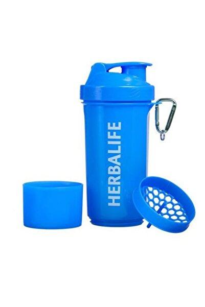 Herbalife Neon Shaker Mavi
