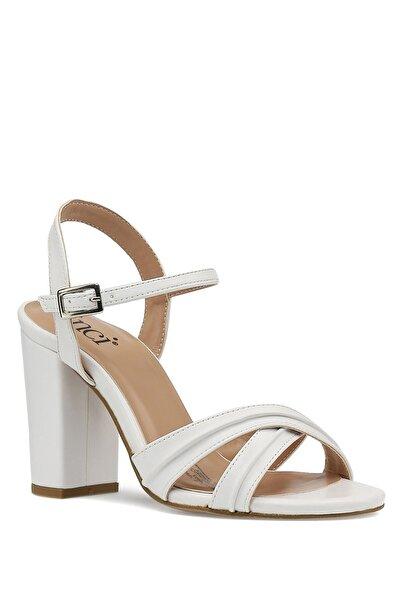 İnci Jeanys.z 1pr Beyaz Kadın Topuklu Ayakkabı