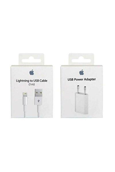Bestshop Iphone Uyumlu Şarj Aleti Cihazı Usb Kablosu Lightning Data Kablo