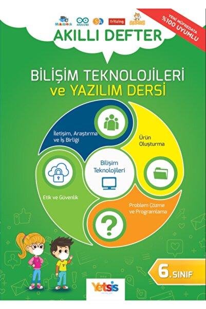 Yetsis Akıllı Defter 6. Sınıf Bilişim Teknolojileri Ve Yazılım Dersi ( 2021-2022 Yenilenmiş Yeni Baskı )