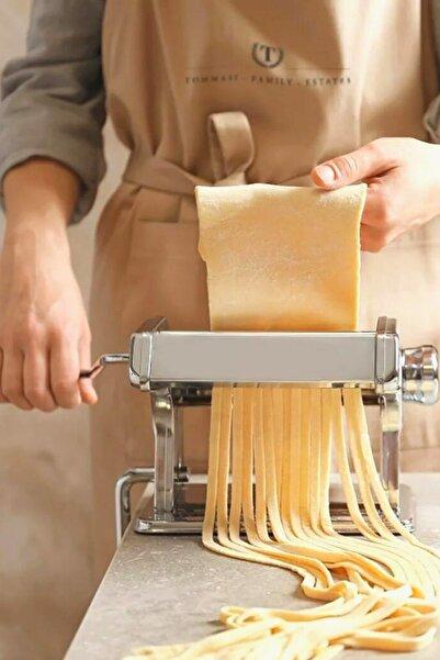 Kitchen Store Erişte Makarna Yapma Kesme Makinesi Hamur Lazanya Spagetti Raviolli Makinesi 150 mm