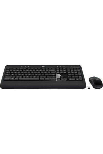 logitech 920-008808 Advanced Wireless Combo Klavye & Mouse Siyah Set Caps Lock Işıklı