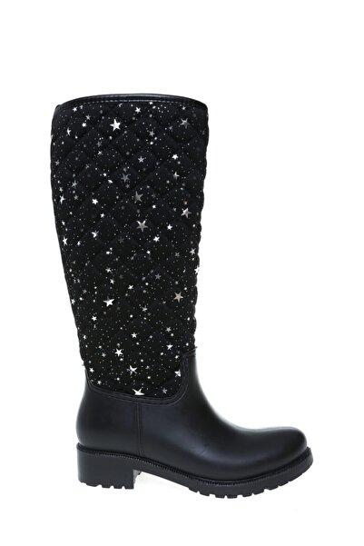 T-Box Siyah Yağmur Çizmesi,