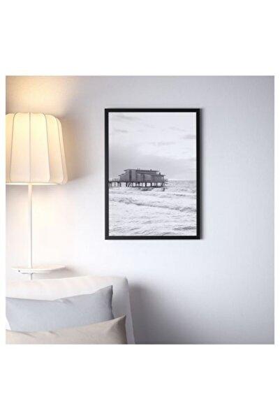 IKEA Fıskbo 50x70 Cm Siyah Çerçeve Fotoğraf Resim Çerçevesi