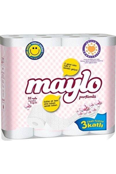 Maylo 3 Katlı Tuvalet Kağıdı 32 Rulo (parfümlü)