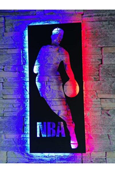 KIRMIZI BEYAZ TASARIM Basketbol Led Işıklı Tablo