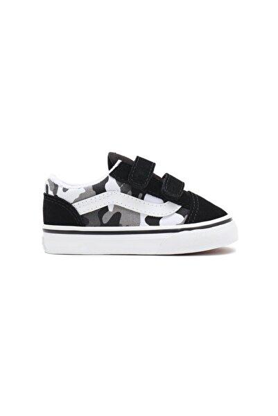 Vans Td Old Skool V Primary Camo Unisex Çocuk Sneaker