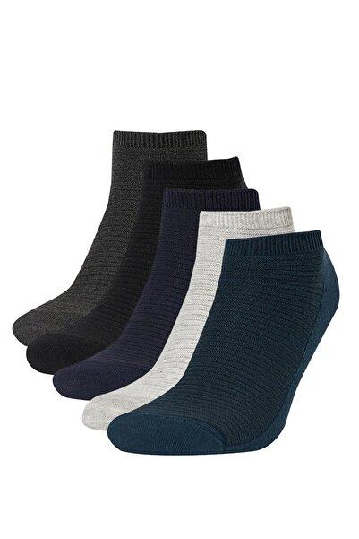 DeFacto Erkek 5'li Patik Çorap