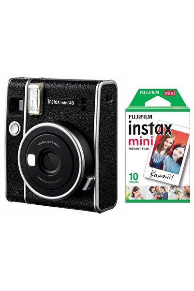 Fujifilm Instax Mini 40 Fotoğraf Makinası Ve 10'lu Film