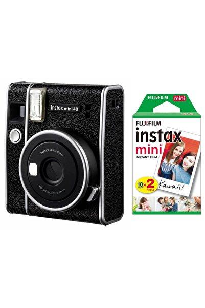 Fujifilm Instax Mini 40 Fotoğraf Makinası ve Film 20'li