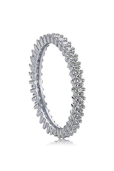 Valori Jewels 0.60 Karat Zirkon Taşlı, Gümüş Tamtur Yüzük