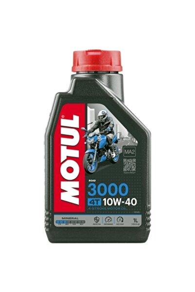 Motul 3000 10w40 4t Mineral Motosiklet Motor Yağı 2020 Yeni Üretim