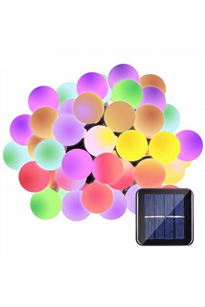 Leddukkani 50 Led Renkli Solar Güneş Enerjili Bahçe Teras Balkon Ağaç Lambası Aydınlatması