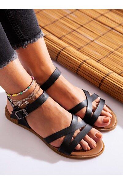 ayakkabıhavuzu Kadın Sandalet Siyah