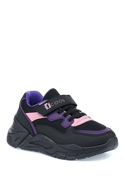 I COOL Fox 1pr Siyah Kız Çocuk Yürüyüş Ayakkabısı