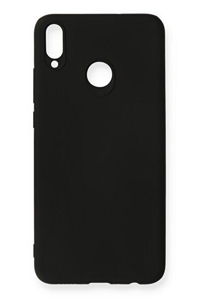Huawei Aqua Honor 8x Kılıf Premium Rubber Silikon - Siyah