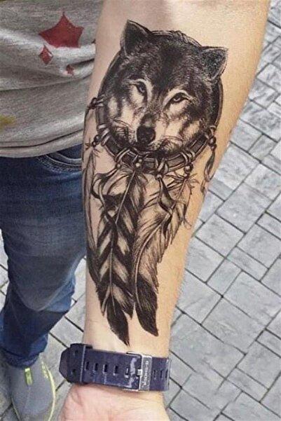 TAKIŞTIR Geçici Kurt Dövme Tattoo