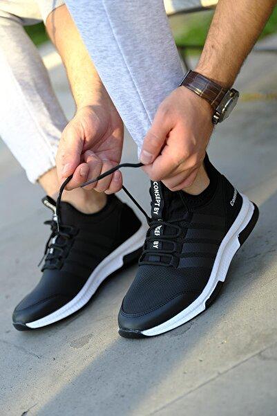 Oksit Cnpt Fane Bant Detaylı Kalın Rahat Taban Sneaker