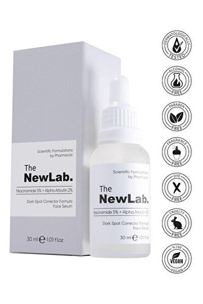 The NewLab Niacinamide 5% + Alpha Arbutin 2% - Lekeli Ciltler Için Yüz Serumu